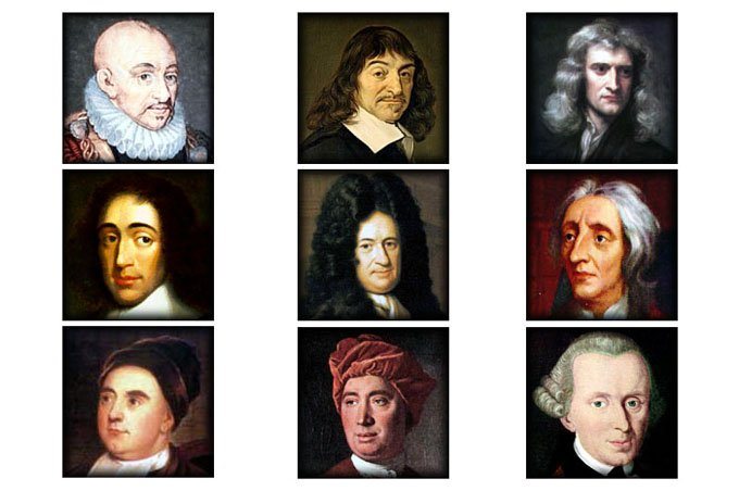 philosophers Spinoza up and down