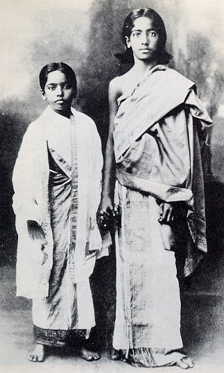 Nitya and Krishnamurti