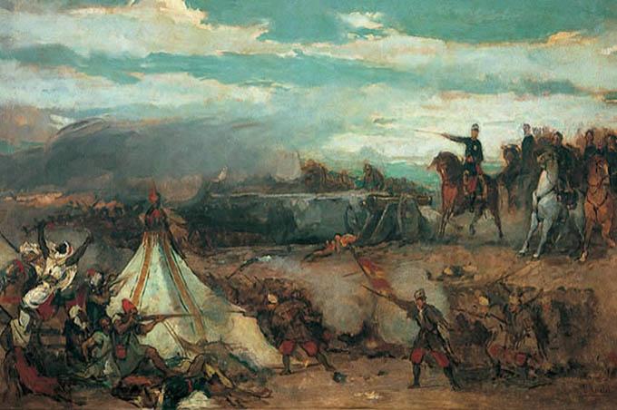 primera guerra de Africa-tetuán-rosales