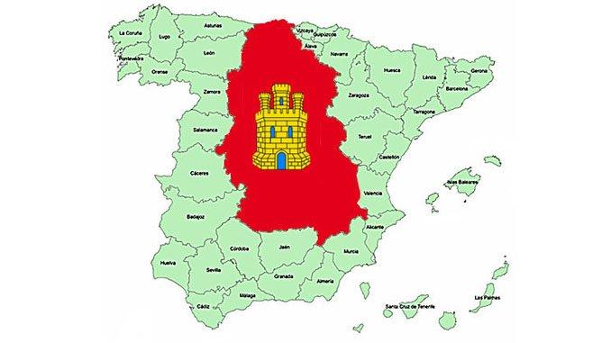 mapa provincias