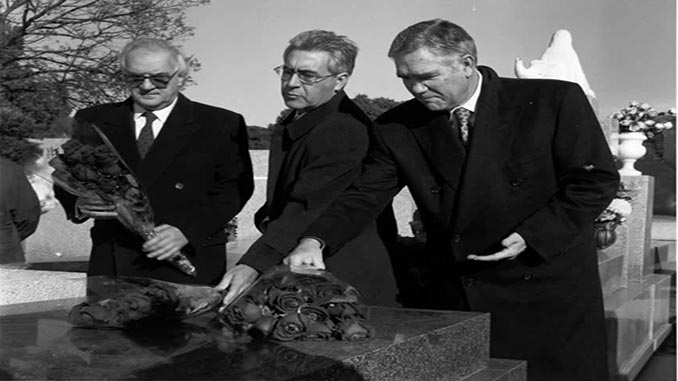Presidentes TC Rodriguez bereijo tumba Tomás y Valiente