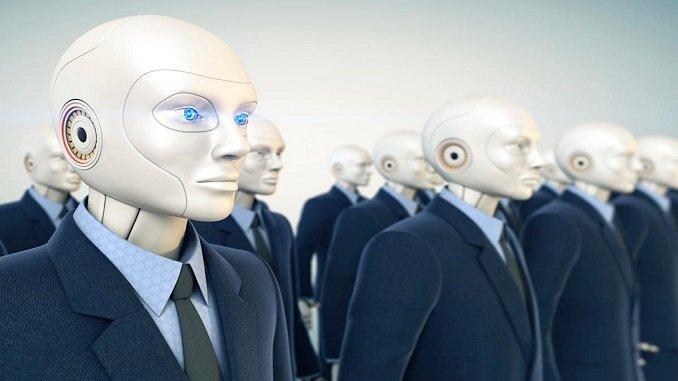 robots humanoides paint