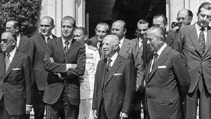 Franco-ministros Nacionalcatolicos 3-1