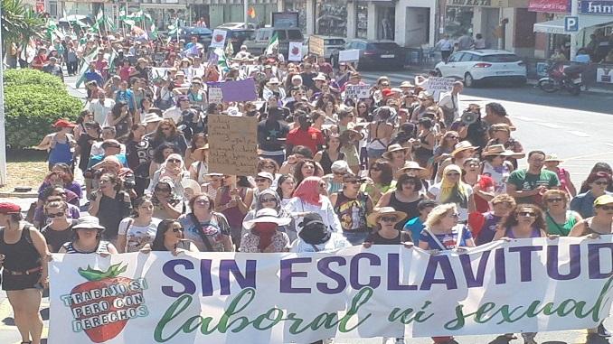 foto manifestacion 17 junio 2018