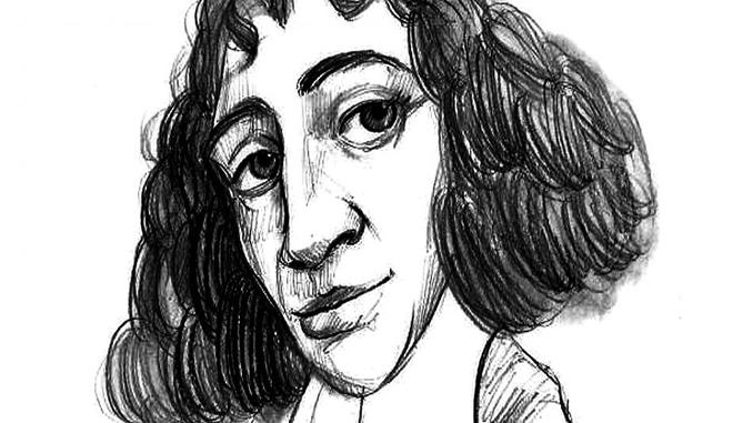 Spinoza caricatura lapiz678x381