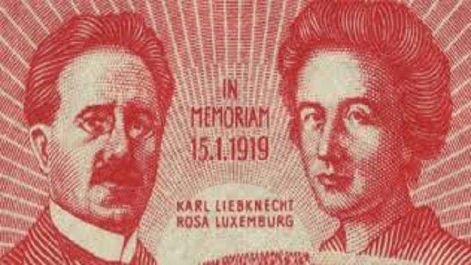 Karl Liebknecht – Rosa Luxemburg
