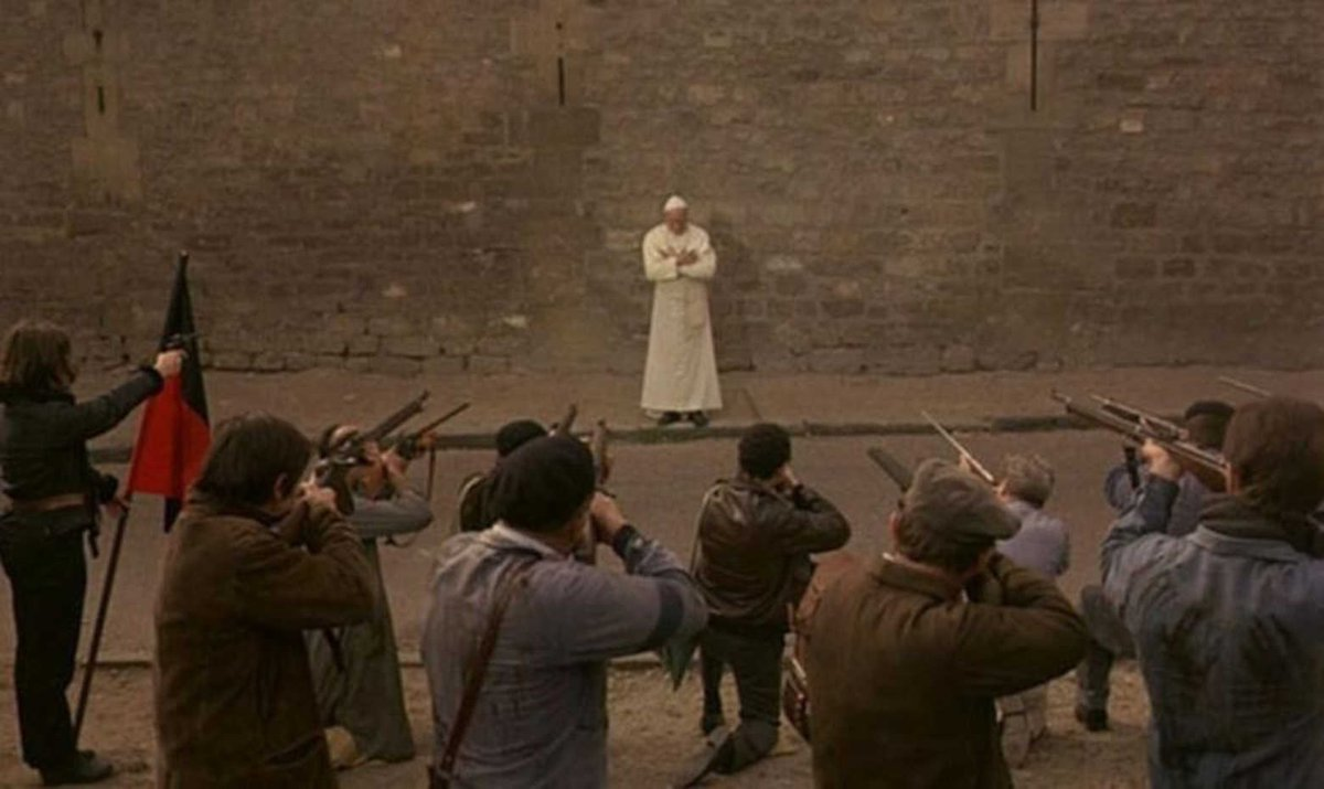 Buñuel – La Vía Láctea – Papa fusilado