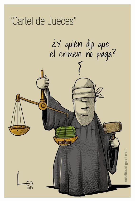 cártel de jueces – corrupción judicial