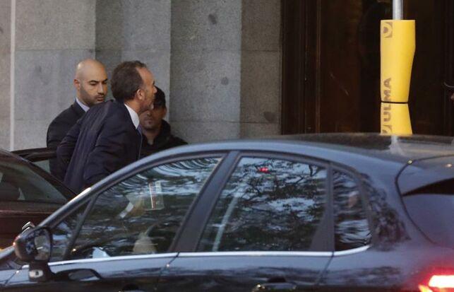 Manuel Marchena, a su llegada al Tribunal Supremo. EFE