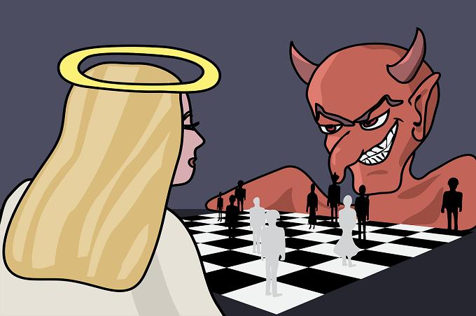 angel y demonio IP
