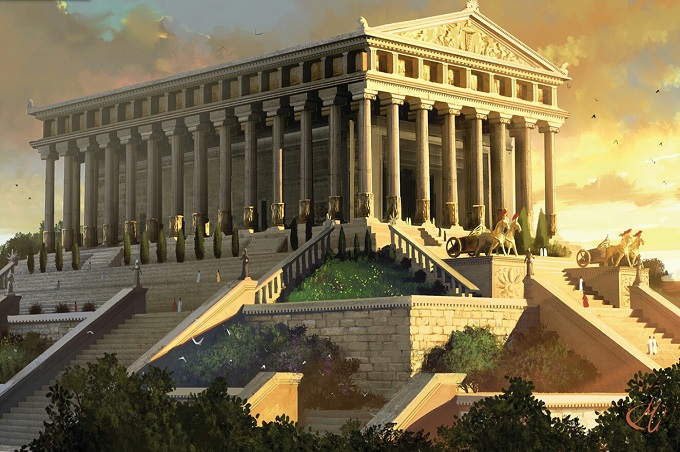 estoicos- recreación Templo de Zeus – IP