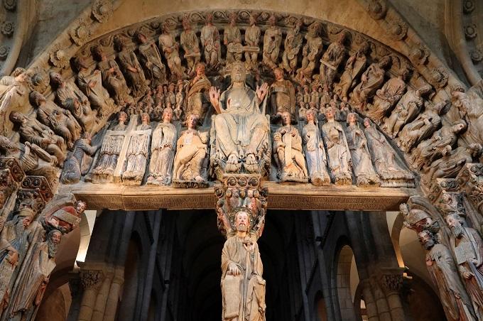Portico de la gloria – Catedral de Santiago de Compostela